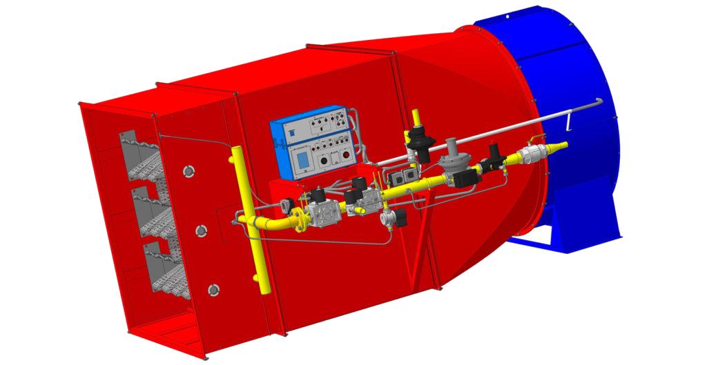 Воздухонагреватель ВГС 1800