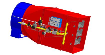 Воздухонагреватель ВГС-1800 (напольное исполнение)