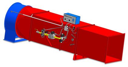 Воздухонагреватель ВГС-200 (напольное исполнение)