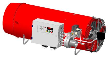 Воздухонагреватель ВГС-200 (подвесное исполнение)
